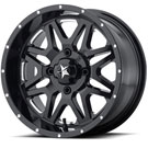 MSA Offroad Wheels M26 Vibe Milled Gloss Black