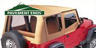 Pavement Ends Replay Soft Tops <br/>for Wrangler YJ 1988-1995