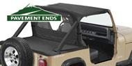 Pavement Ends Sun Caps <br/>for Wrangler YJ 86-95