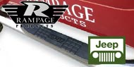 Rampage Nerf Bars <br/> for Jeep Wranglers