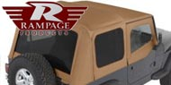 Rampage Factory Replacement Tops <br/>for Wrangler YJ 1988-1995