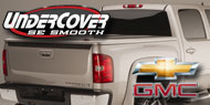 Undercover SE Smooth Tonneau Cover for Chevy GMC