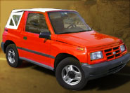 Geo Tracker Soft Tops
