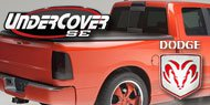 Dodge <br>Undercover SE <br>Tonneau Covers