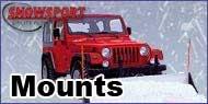 "SnowSport Mounts - 2"" Receiver Hitch - Jeep"