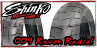 009 Raven Radial Tires