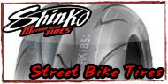 Shinko Streetbike Tires