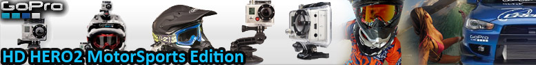 GoPro HD Hero 2 <br/>Motorsports Edition