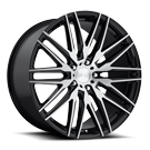 Niche Wheels Anzio M165 <br/> Black Machined