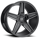 Niche Wheels Cannes M180 <br/> Black Milled Gloss