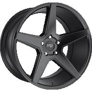 Niche Carini M185 Satin Black Wheels