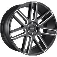 Niche Elan M096 Gloss Black Milled Wheels
