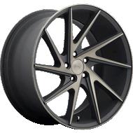 Niche Invert M163 Black Machined Wheels