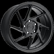 Niche Kumo M176  Black Matte Wheels