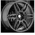 Niche Wheels NR6 M105<br /> GunMetal Matte