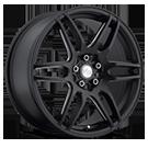 Niche Wheels NR6 M106<br /> Black Milled