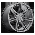 Niche Wheels Lucerne M145<br /> Gun Metal