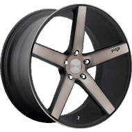 Niche Milan M134 Black Machined Wheels