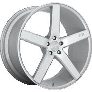 Niche Milan M135 Silver Machined Wheels