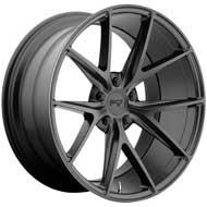 Niche Misano M117 Black Matte Wheels