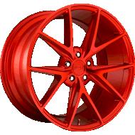 Niche Misano M186 Candy Red Wheels
