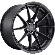 Niche Sector M196 Satin Black Wheels