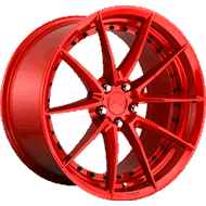 Niche Sector M213 Candy Red Wheels