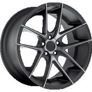 Niche Targa M130 Black Machined Wheels