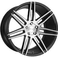 Niche Trento M178 Black Brush Gloss Wheels
