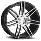 Niche Wheels Trento M178 <br/> Black Brush Gloss