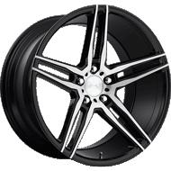 Niche Turin M169 Black Machined Wheels