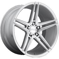 Niche Turin M170 Silver Machined Wheels