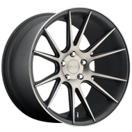 Niche Vicenza M153 Black Machined Wheels