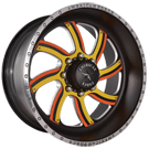 American Force Wheels<br /> NIGHTMARE FP8 Black