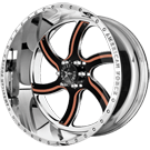 American Force Wheels<br /> NIGHTMARE FP6 Polished