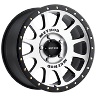 Method Race Wheels<br> NV Black Machined
