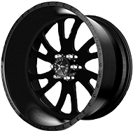 American Force OCTANE SS6 Black Wheels