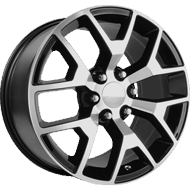 OE Performance <br />150B Gloss Black with Machined Face