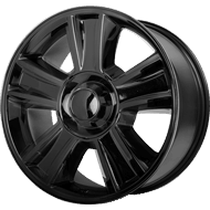 OE Creations PR143 Gloss Black Wheels