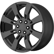 OE Creations PR144 Gloss Black Wheels