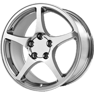 OE Creations PR104 Chrome Wheels