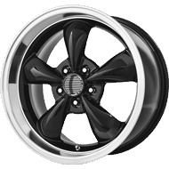 OE Creations PR106 Gloss Black Machined Wheels