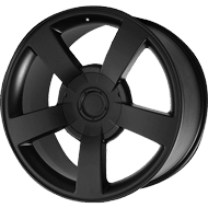 OE Creations PR112 Matte Black Wheels