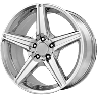 OE Creations PR115 Chrome Wheels