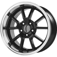 OE Creations PR118 Gloss Black Machined Wheels
