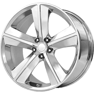 OE Creations PR123 Chrome Wheels