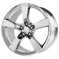 OE Creations PR124 Chrome Wheels