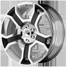 OE Creations Wheels <br />PR127 Gloss Black Polished