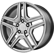 OE Creations PR128 Hyper Silver Wheels