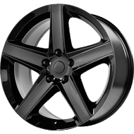 OE Creations PR129 Gloss Black Wheels